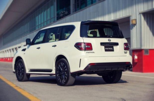 2019 Nissan Patrol rear