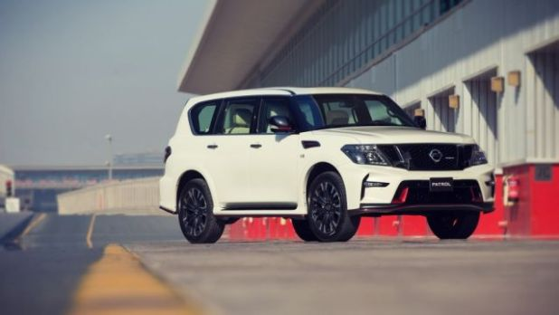 2019 Nissan Patrol front view