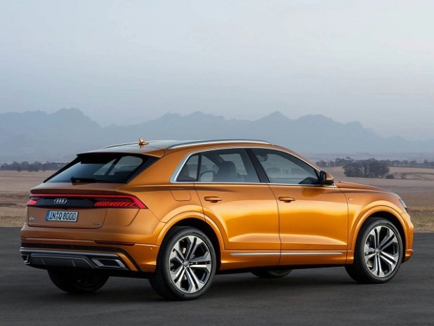 2019 Audi RS Q8 rear view