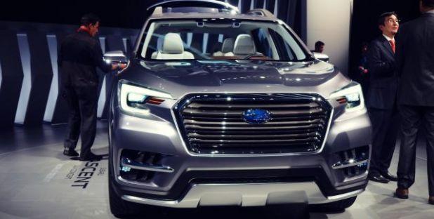 2019 Subaru Tribeca front