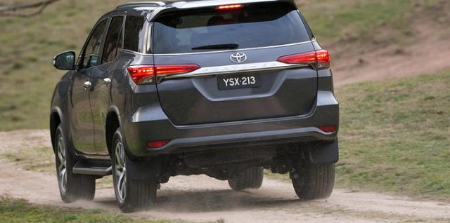 2020 Toyota 4Runner rear view - 2019 and 2020 New SUV Models