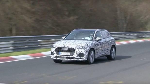 2020 Audi RS Q3 spy shots