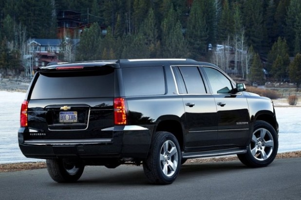 2020 Chevrolet Suburban rear view