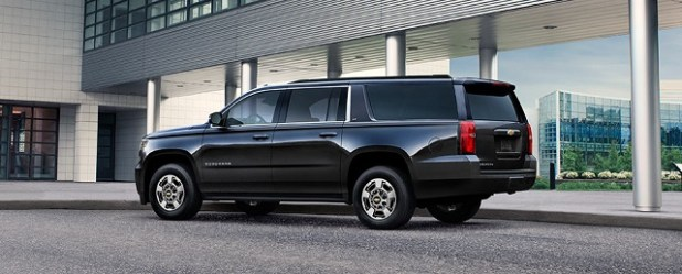 2020 chevrolet suburban side view