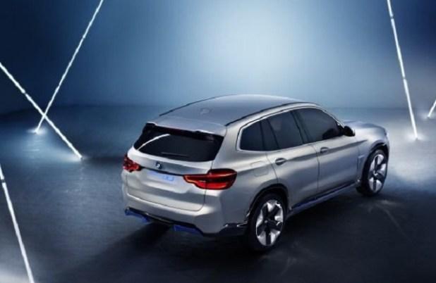 2019 BMW iX3 rear view