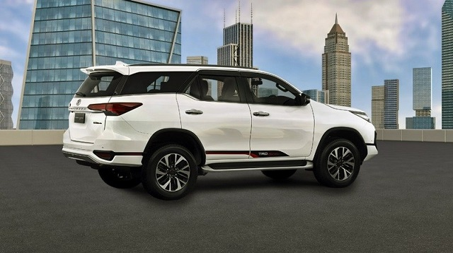 2019 Toyota Fortuner Side View 2019 And 2020 New Suv Models