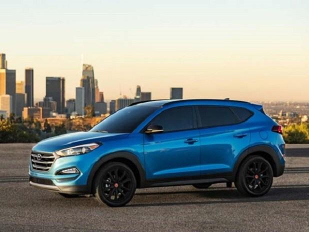 2020 Hyundai Tucson side view
