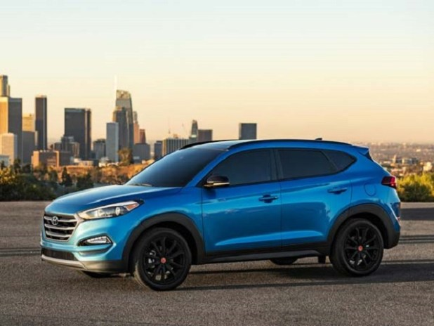 2020 Hyundai Tucson side view