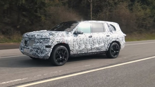 2020 Mercedes-Benz GLS side view