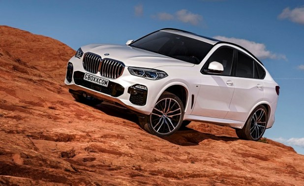 2020 bmw x6 front view