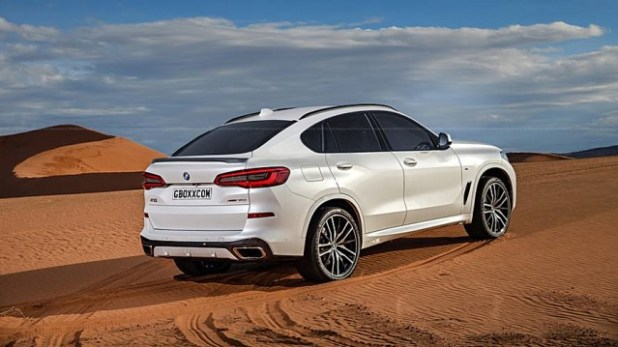 2020 bmw x6 rear view