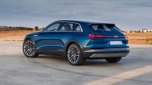 2020 Audi Q6 rear view
