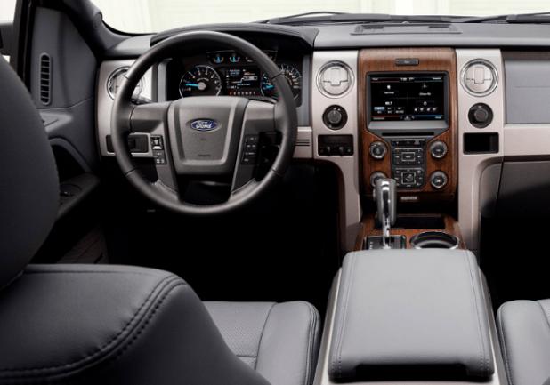 2020 Ford Bronco Diesel interior