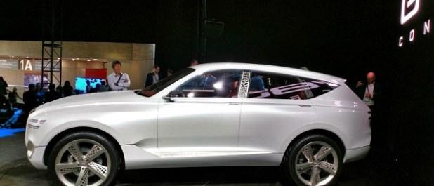 2020 Genesis GV80 SUV side view