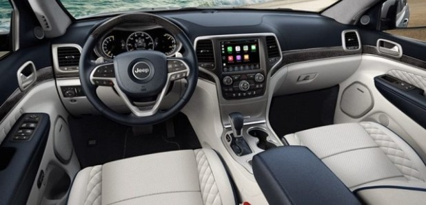 2020 Jeep Wagoneer interior