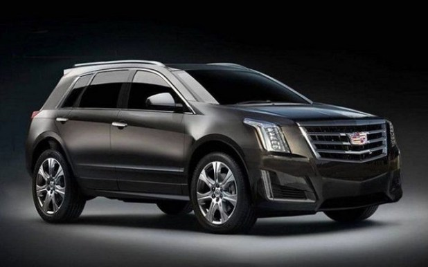 2020 Cadillac XT3 front view