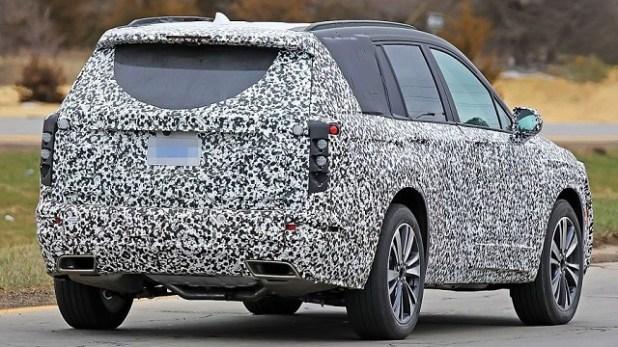2020 Cadillac XT3 rear view