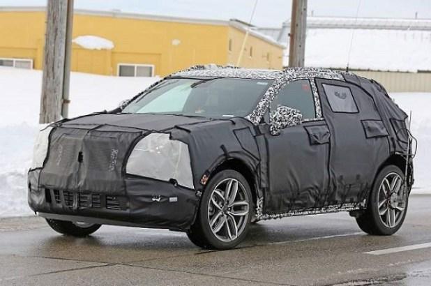 2020 Cadillac XT3 spy shots