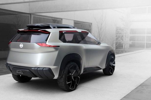 2020 Nissan Rogue rear view