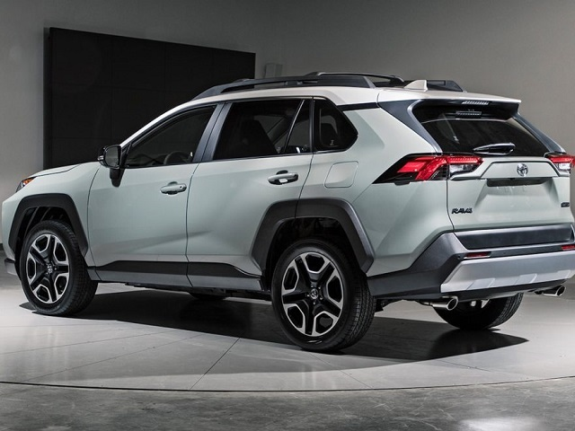 2020 Toyota RAV4 rear view - 2019 and 2020 New SUV Models