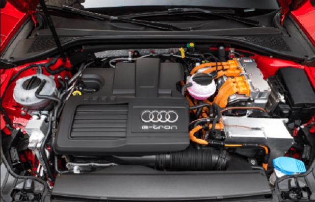 2020 Audi Q3 Hybrid engine