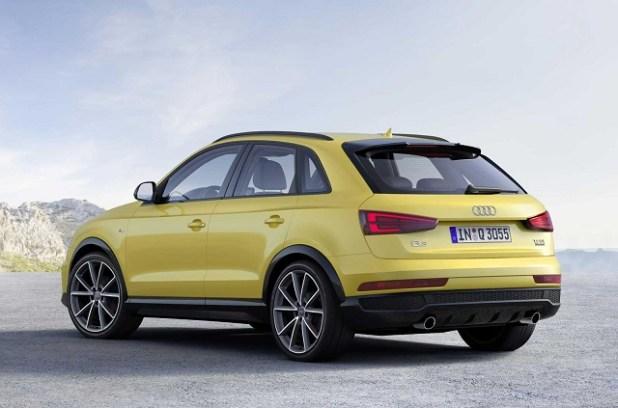 2020 Audi Q3 Hybrid rear view