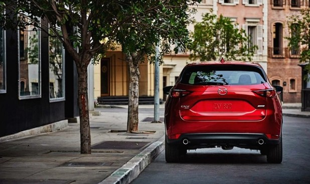 2020 Mazda CX-5 Turbo rear view