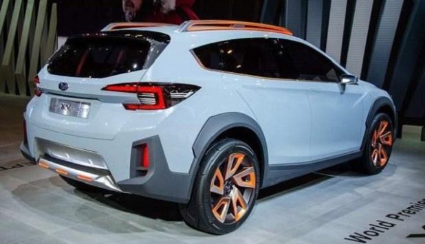 2020 Subaru Crosstrek rear view