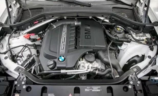 2020 BMW X4 engine