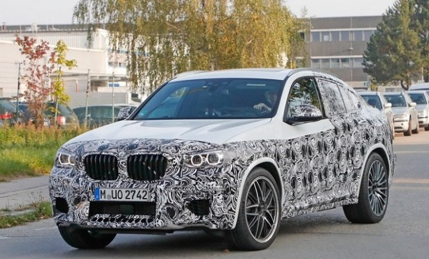 2020 BMW X4 spy shots