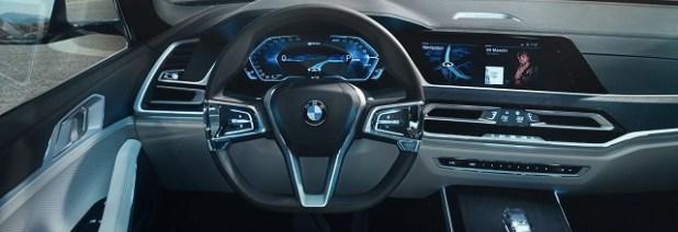 2020 BMW X8 dashboard