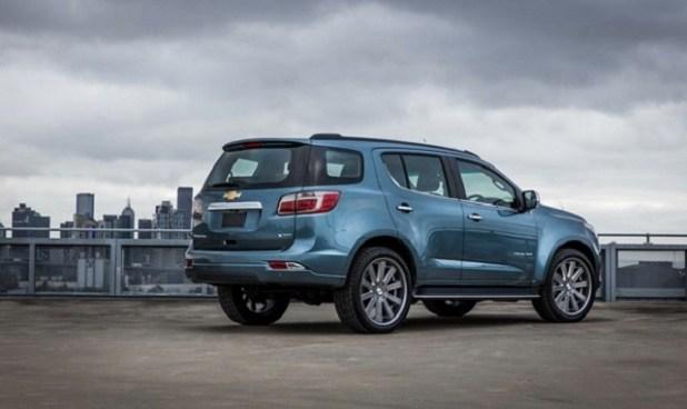 2020 Chevrolet Trailblazer rear view