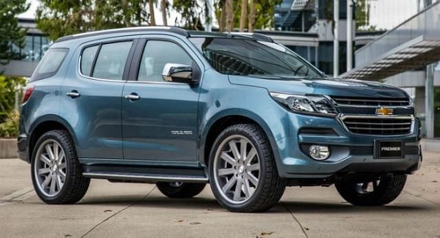 2020 Chevrolet Trailblazer side view - 2019 and 2020 New SUV Models