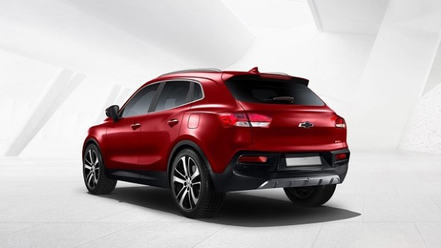 2020 Chevy Trax rear view