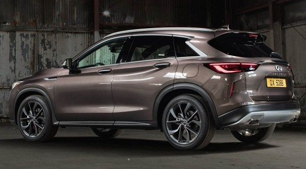 2020 Infiniti QX50 rear view