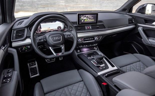 2020 Audi Q2 interior