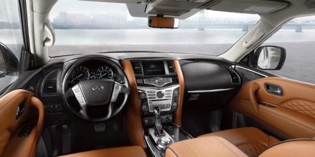 2020 Infiniti QX80 interior