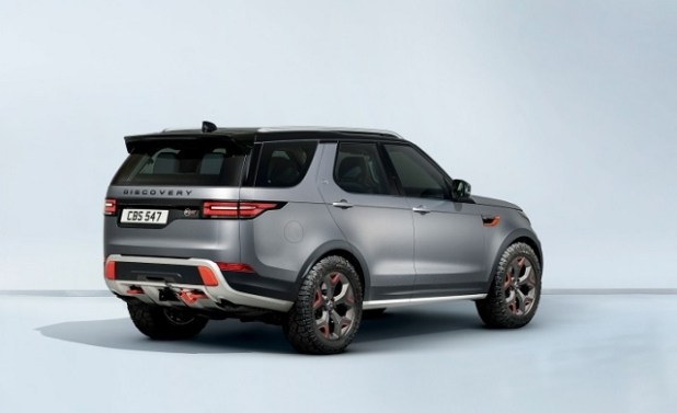2020 Land Rover Discovery rear view