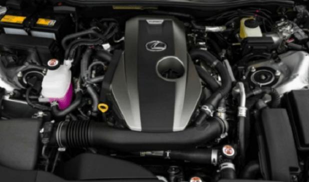 2020 Lexus NX300 engine