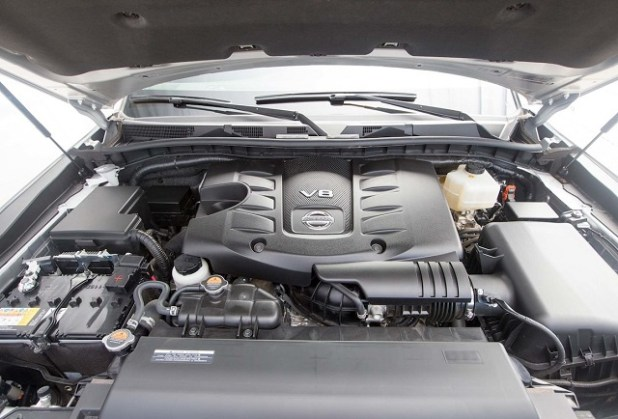 2020 Nissan Armada engine