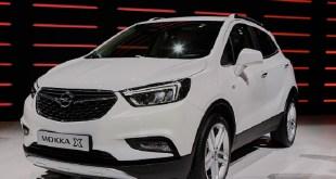 2020 Opel Mokka X front view