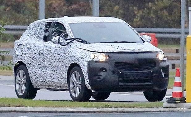 2020 Opel Mokka X spy pics