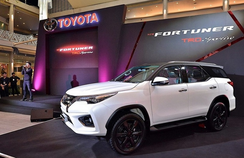 2020 Toyota Fortuner Facelift, Interior