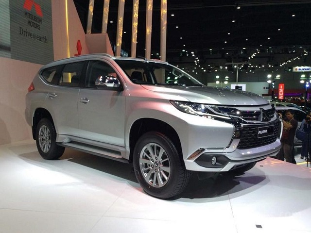 2020 Mitsubishi Pajero Front View 2019 And 2020 New Suv Models