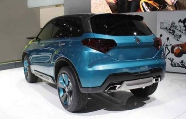 2020 Grand Vitara rear view
