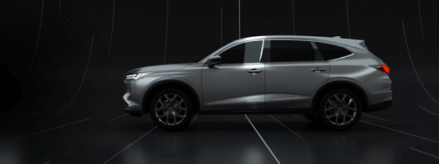 2021 Acura MDX side view