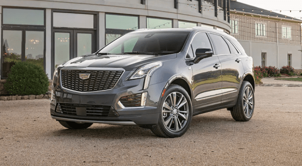 2021 Cadillac XT5 Front