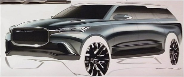 2021 Chrysler Aspen Drawing