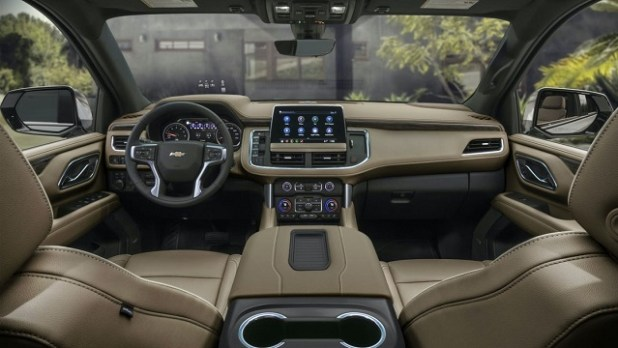 2021 Chevy Suburban Interior