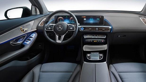 2021 Mercedes-Benz EQC Interior
